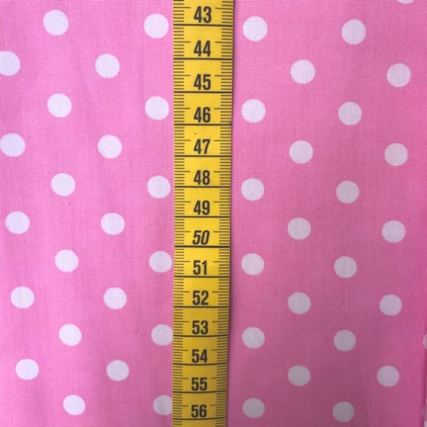 2 Größen Punkte: rosa-weiß